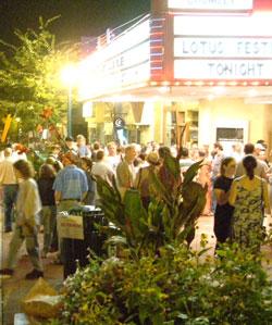 Lotus street scene