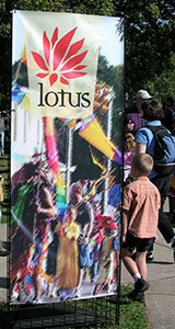 Lotus banner