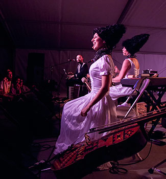 DakhaBrakha on stage