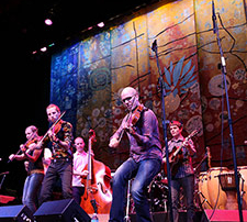 Frigg at the 2014 Lotus World Music and Arts Festival
