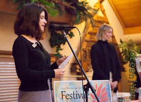 Sunni speaks at Edible Lotus