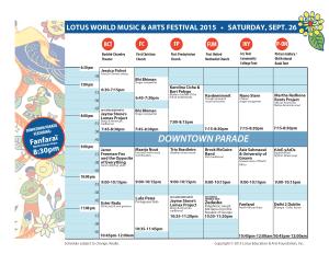 Lotus Saturday Schedule Grid v.08-25