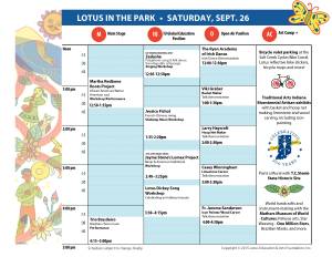 Lotus in the Park Schedule Grid v.08-25