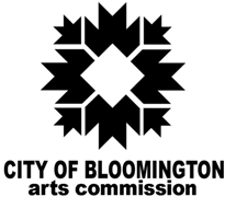 City of Bloomington Arts Commisions Logo