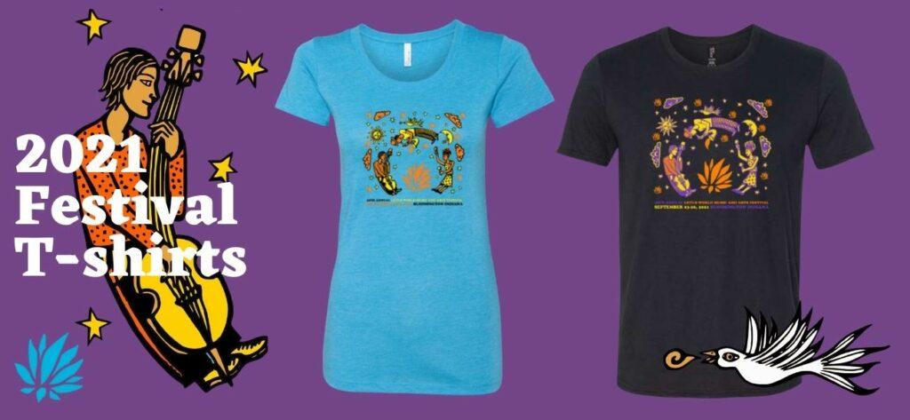 2021 Lotus Festival T-shirts