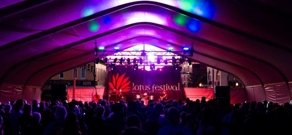 Lotus Festival Ticket Sales Matched up to $100,000