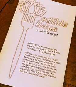 Edible Lotus program